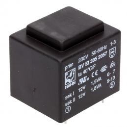 Transformator 2x12V 3,0W