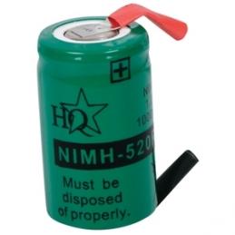 ACCU Baterija 1,2V 520mAh