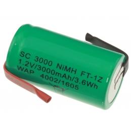 ACCU Baterija 1,2V R14 L3,0Ah