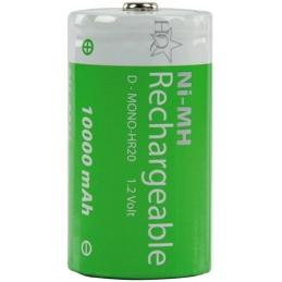 ACCU Baterija 1,2V R20 10,0Ah