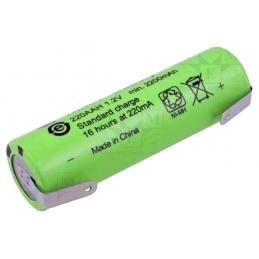 ACCU Baterija 1,2V R6 2,2Ah L