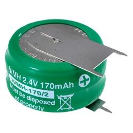 ACCU Baterija 2,4V 170mAh