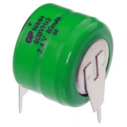 ACCU Baterija 2,4V 60mAh