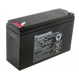 ACCU Baterija 6,0V 12Ah Panasonic