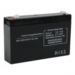 ACCU Baterija 6,0V 7,2AH Panasonic