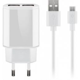 Punjač USB SET 2.4A Goobay