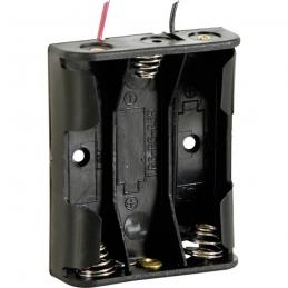 Držač Baterija 3xR6 AA