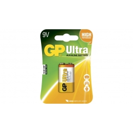 Baterija 9V Alkalna GP