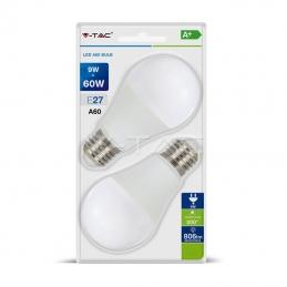 LED Žarulja E27 9W  2PAK