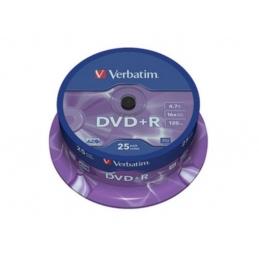 DVD+R Verbatim 1/25