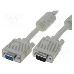 Kabel VGA 10m muški - ženski