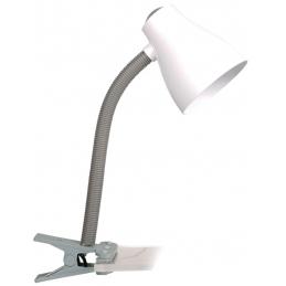 Lampa clip siva
