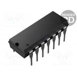 IC CMOS 4001 SMD