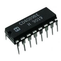 IC CMOS 4089