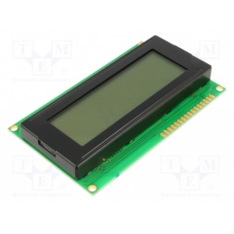Display LCD 20x4 Žuti
