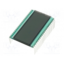 Display LCD 3+1/2 LCD
