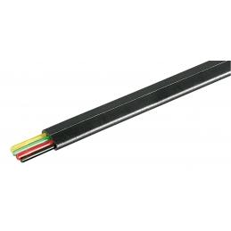 Kabel Telefonski Flah 4 Crni