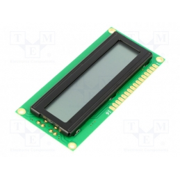 Display LCD 16x1 mat