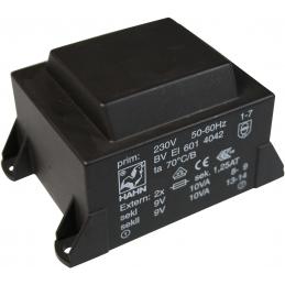 Transformator 2x12V 20W