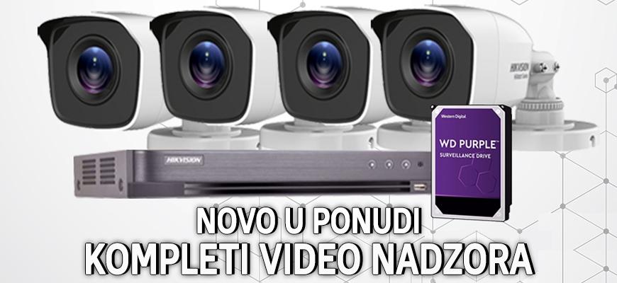Video nadzor kompleti